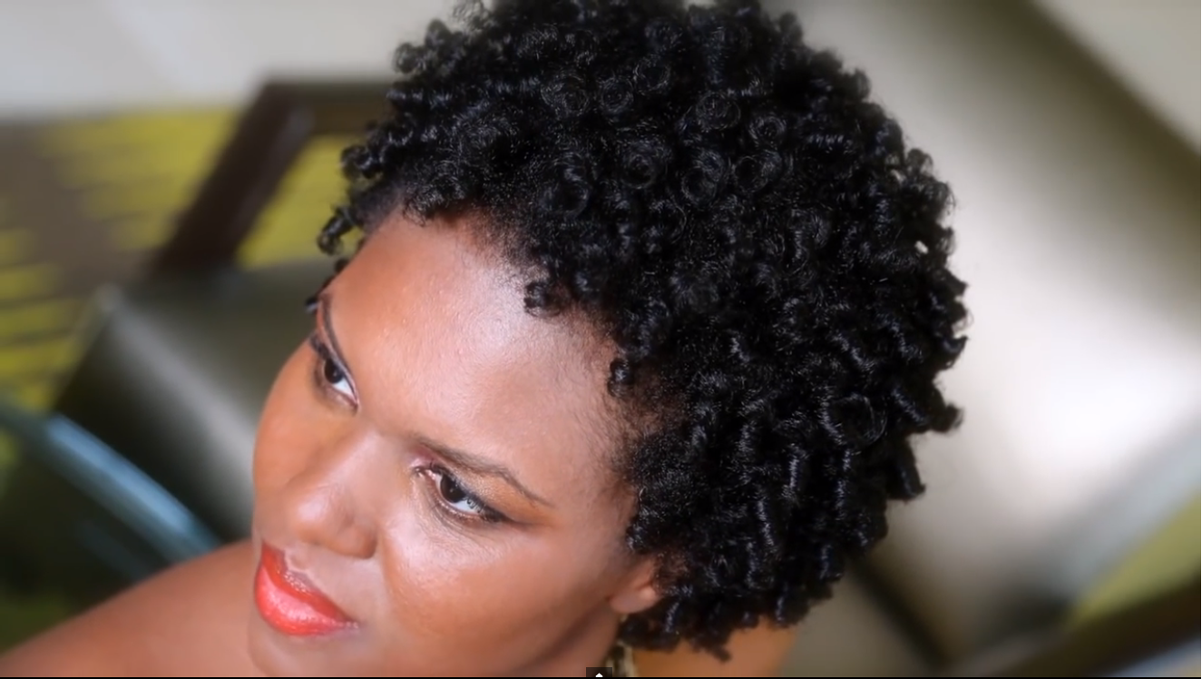 Corkscrew Thread Curls On Natural Hair With Entwine Naturalle ...