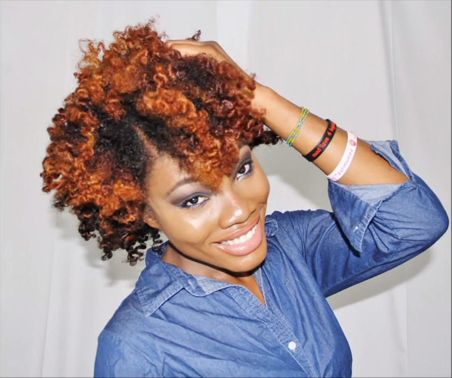 Natural Hair Cocoon Curls