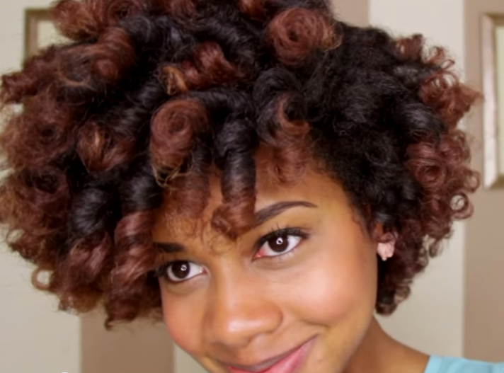 Roller Set Styles For Natural Hair