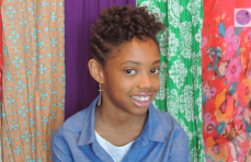 Styles for Kids: Roller Set and Flat Twist Updo