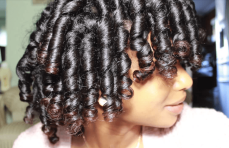 Bouncy Curls with Flexi Rods