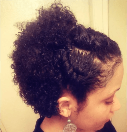 Styling Short Natural Hair 3 Wash & Go Styles For Short Natural Hair