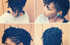 Five Easy Hair Styles with Two Strand Twists