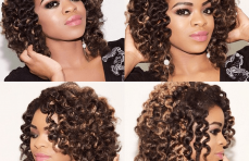 Amazing Crochet Braids With An Invisible Part