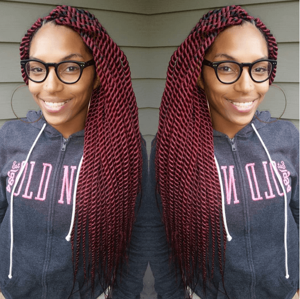 Swell Senegalese Twist Hairstyles You39Ll Adore Short Hairstyles Gunalazisus