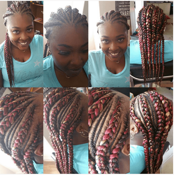 Amazing 7 Unique Cornrow Styles Hairstyle Inspiration Daily Dogsangcom
