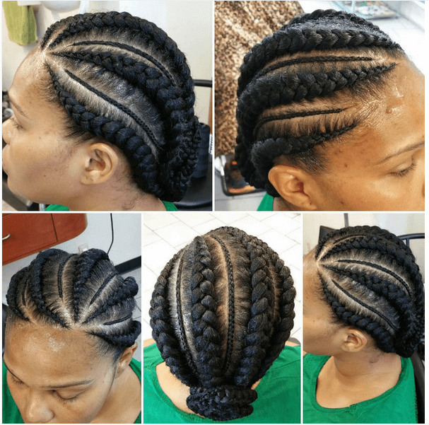 Miraculous 7 Unique Cornrow Styles Hairstyle Inspiration Daily Dogsangcom