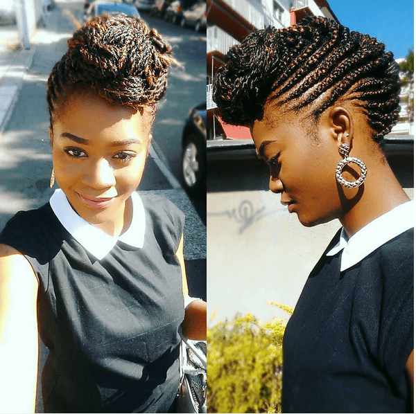 Unique Cornrow Styles