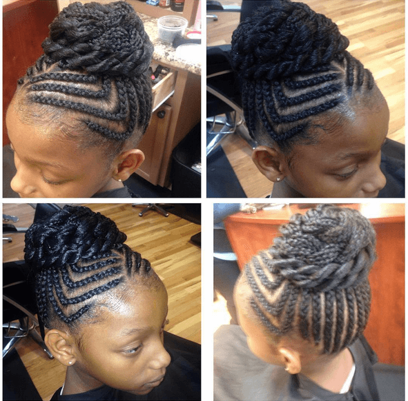 Strange 7 Unique Cornrow Styles Short Hairstyles For Black Women Fulllsitofus