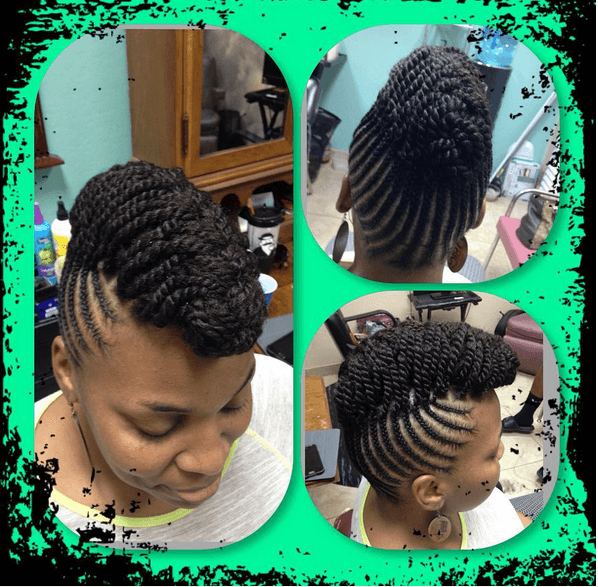 Astounding Chic Natural Hairstyles For Weddings Amp More Short Hairstyles For Black Women Fulllsitofus