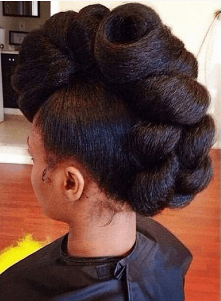 Prime Chic Natural Hairstyles For Weddings Amp More Short Hairstyles For Black Women Fulllsitofus