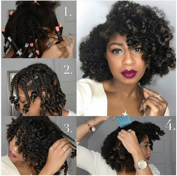 Awesome Braid Out For Curly Hair Short Curly Hair Hairstyles For Women Draintrainus
