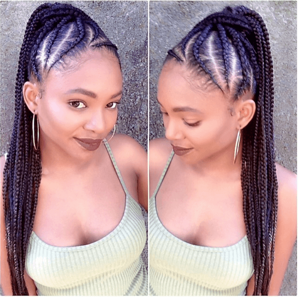 The Perfect Ponytail Amp Cornrows