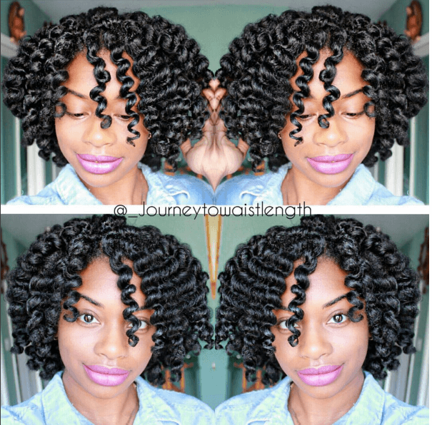 The Most Defined Flexi Rod Set Curls