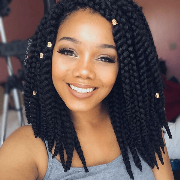 Beautiful Crochet Bob Braids