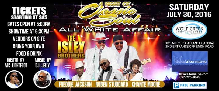 8 - A Night of Classic Soul - All White Affair - July 30, 2016