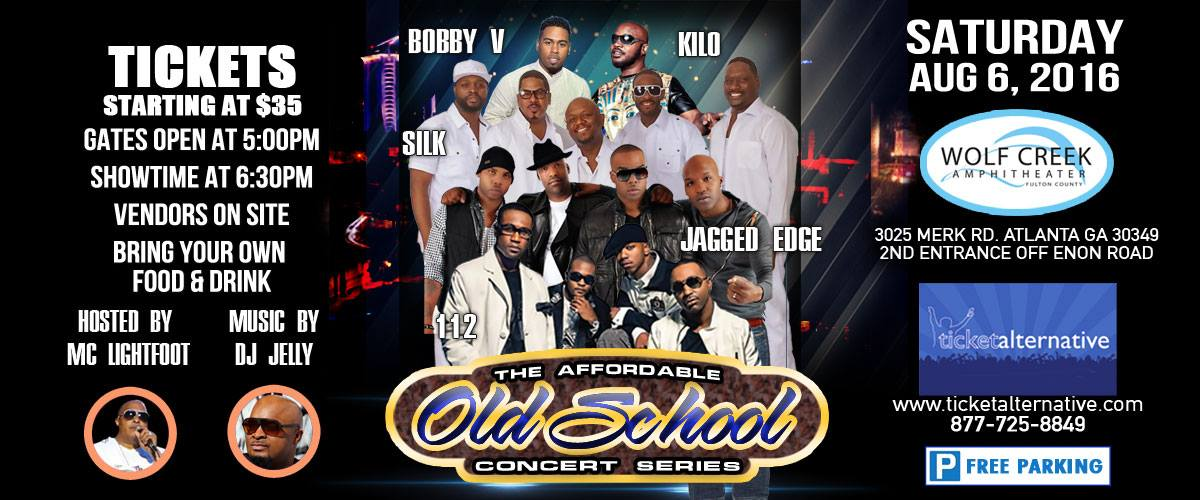 9 - The Affordable Old School Concert Series - Aug 6 2016