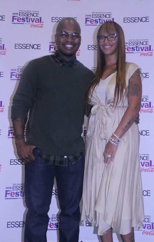 NeYo and his wife at Essence Fest 2016- Photo Credit ConnectingYOUto PR Firm