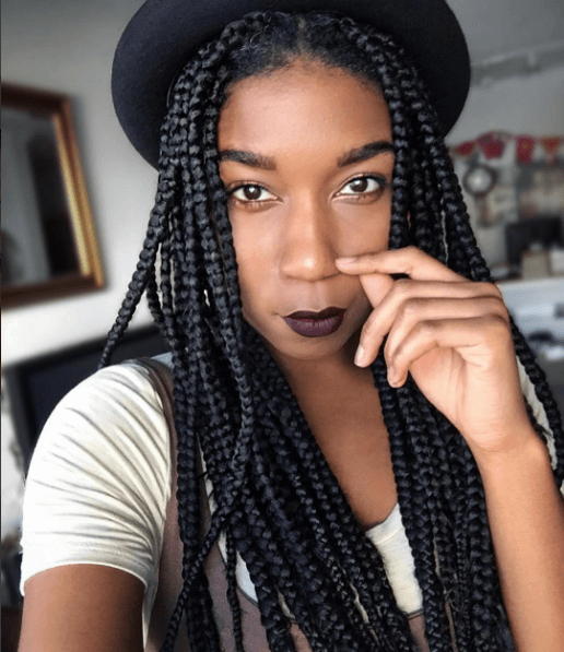 Naptural85 Box Braids Natural Hair Mag