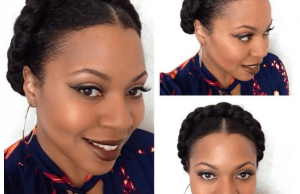 whimsnichole halo braid protective style