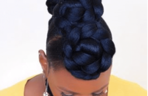 jane_nashe faux bun hawk