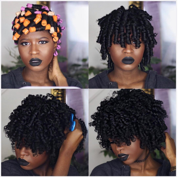 The Perfect Perm Rod Set On Thick Natural Hair