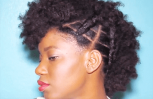 vivigrant braided frohawk