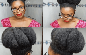 igbocurls royal bun