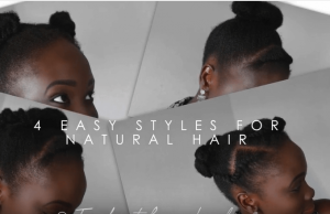 tabithalaker 4 styles for 4c natural hair