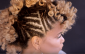 ahfro_baang side cornrows and perm rod set curls