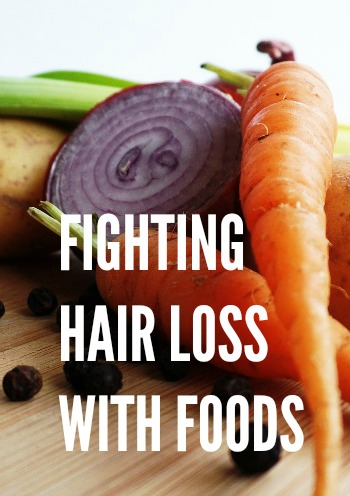 Fight Hair Loss by Ensuring You're Eating the Right Foods.  https://www.naturalhairmag.com/fighting-hair-loss-foods/