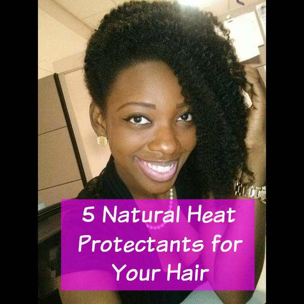 5 Natural Hair Protectants for Your Natural Hair. Number four is absolute gold. Read more at  https://www.naturalhairmag.com/top-natural-heat-protectants/ via @naturalhairmag