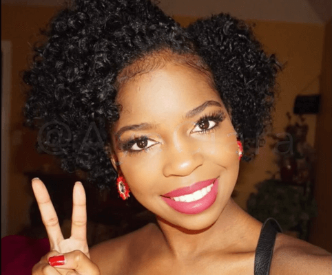 Easy Flat Twist Out On Short Hair