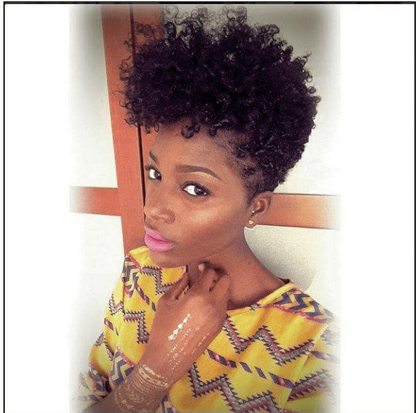 Faux Tapered Cut On Natural Hair