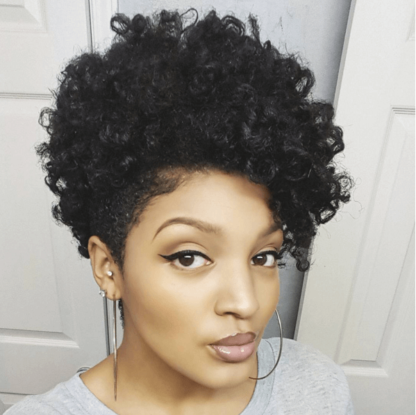 Gorgeous Twist Out On A Tapered Cut