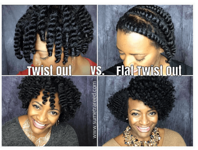 hair braid out styles the twist out vs flat twist out 8685