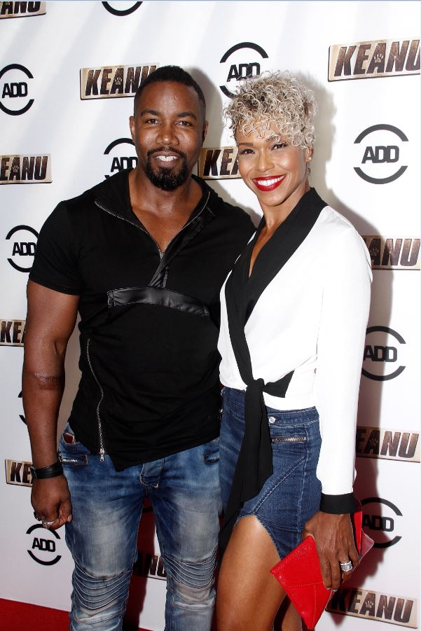 Actor Michael Jai White and Wife Gillian -