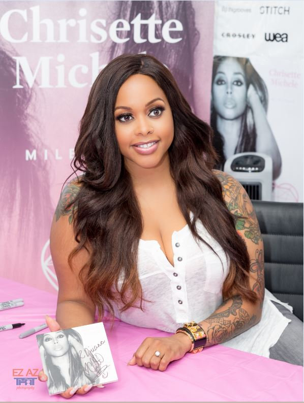 6 -- Chrisette Michele's Milestone Album Signing - Photo credit - Ez Az That Photography - 6-13-2016