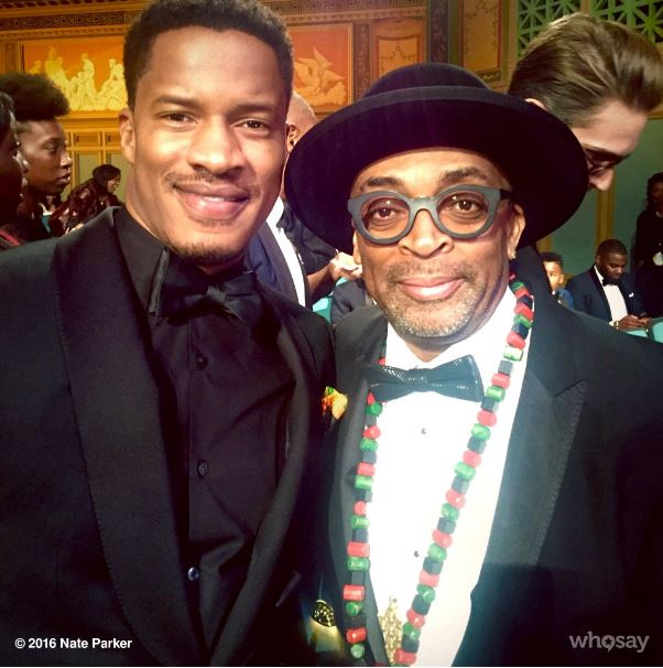 Nate Parker and Spike Lee - Photo credit - Nate Parker's twitter