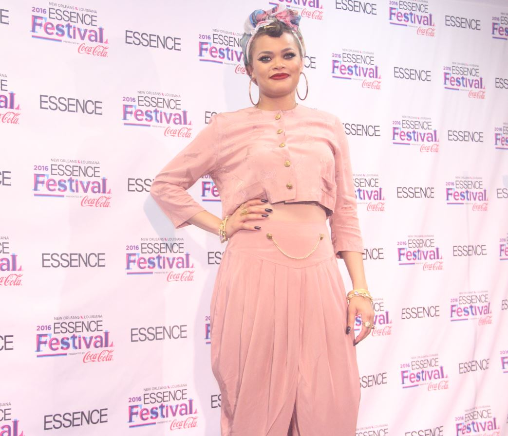 Andra Day at Essence Fest 2016--Photo credit ConnectingYOUto PR Firm