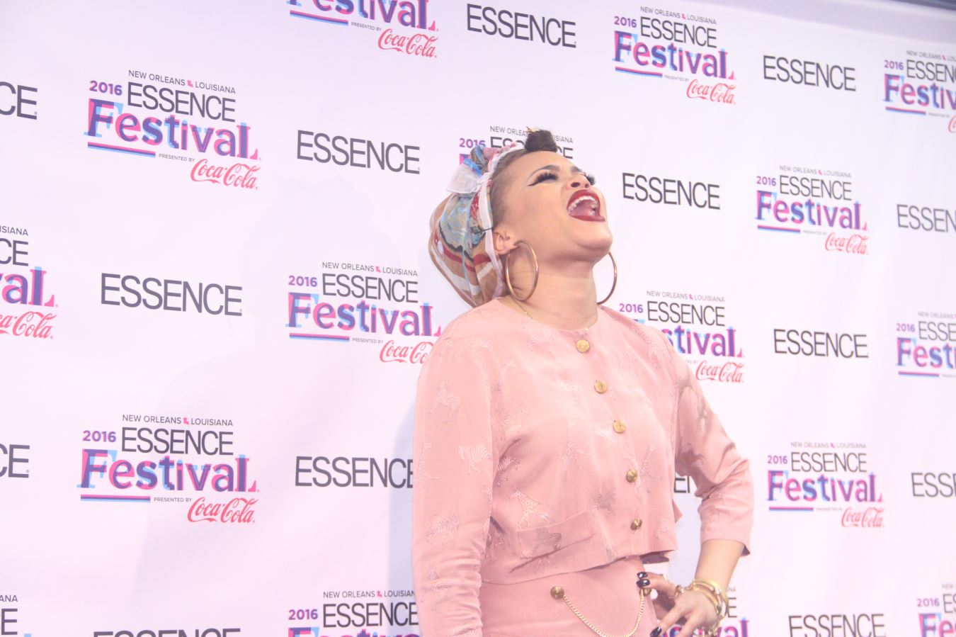 Andra Day at Essence Fest 2016 -Photo credit ConnectingYOUto PR Firm