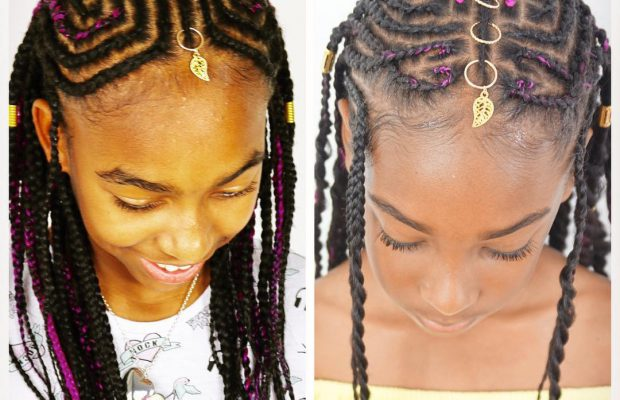 Hairstyles For Black Kids With Natural Hair