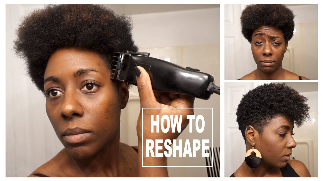 Diy Tapered Cut And Natural Style