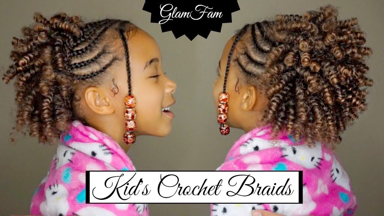 Natural Looking Crochet Hairstyle For Kids Natural Hair Mag