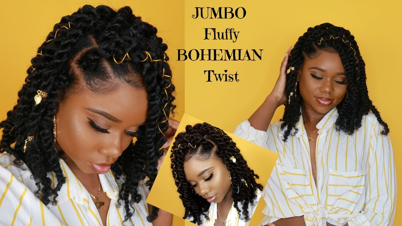 New Bohemian Twist Crochet And Rubber Band Method